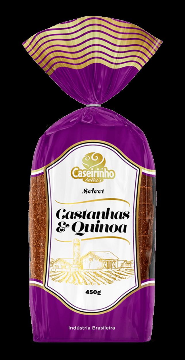 Pão Integral – Castanhas e Quinoa