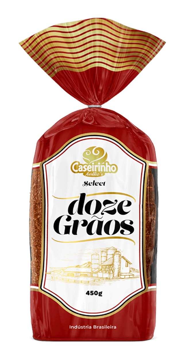Pão Integral 12 Grãos